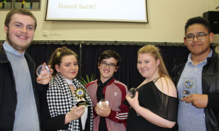 Awards for Academy 360 record breakers