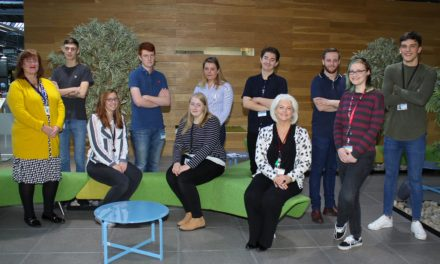 Students secure jobs thanks to successful apprenticeship scheme