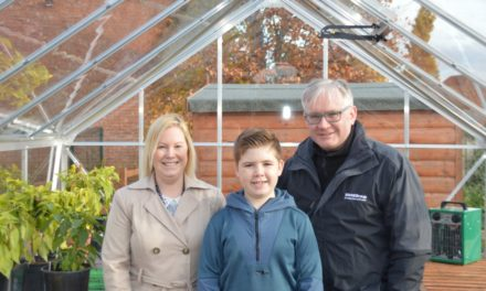 New Daisy Chain Greenhouse Project Helping Local Children with Autism Grow