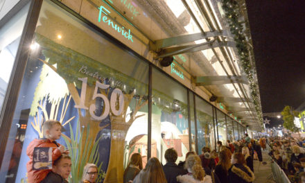 Fenwick Newcastle Unveils 'The Magic Of Beatrix Potter' As Its Animated Windows For 2016