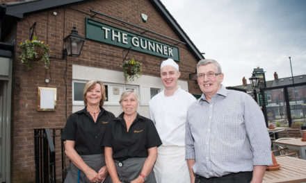 Special Guest Pulls First Pint at North Shields Pub Opening