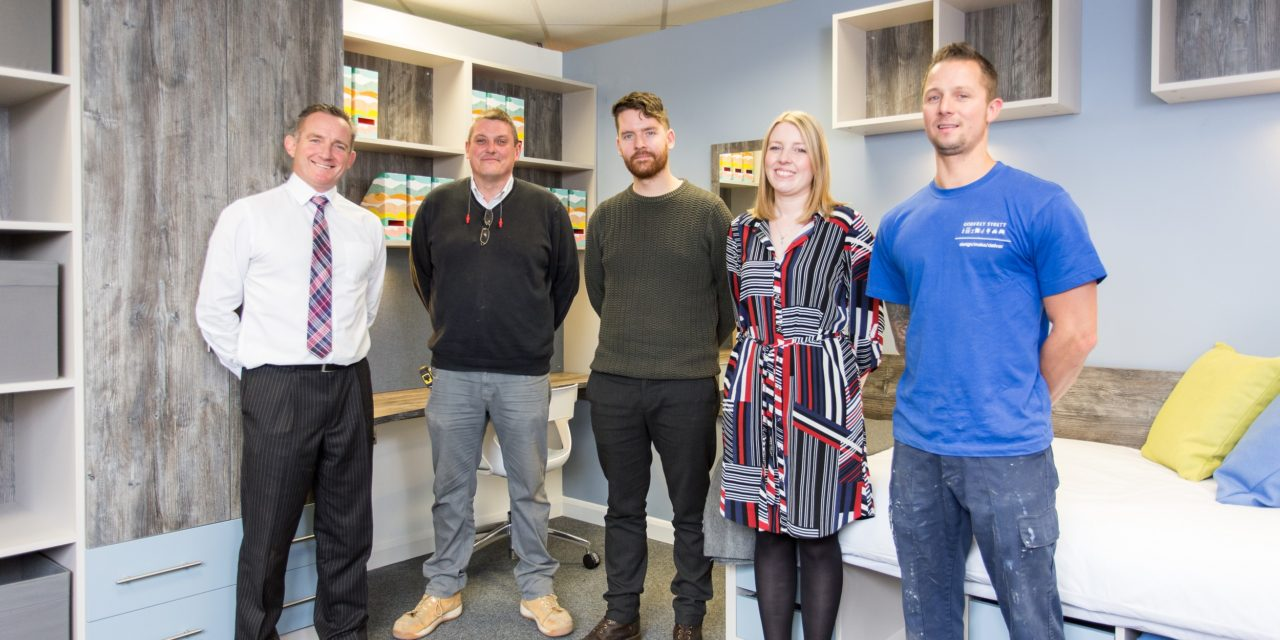 Student accommodation boom sees furniture firm open new showroom