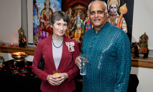 Wearside lights up for Hindu celebration