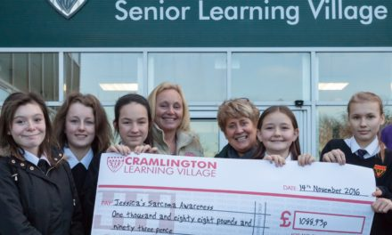 Cramlington students and staff raise money for special charity
