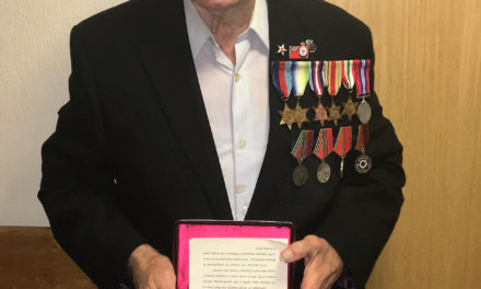 Russia award Teesside care home resident for WWII service