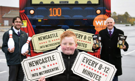 Bus fan Alife launches new Intu Metrocentre busses with a movie makeover