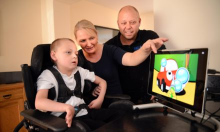 Newcastle Building Society Steps in to Help Meet Young Nathan's Communication Needs