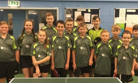 Table Tennis Club are League Leader