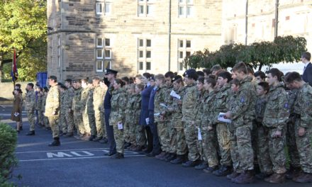 Remembrance at Barnard Castle School