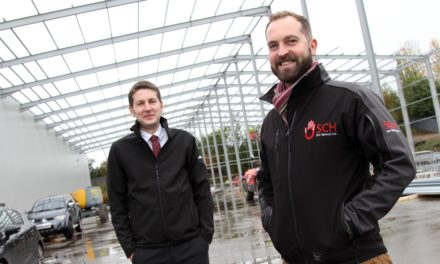 Aycliffe steel firm helps Stiller expand again with £750,000 warehouse