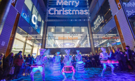 intu Eldon Square adds a spark to the festive season
