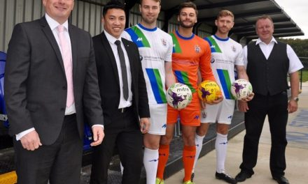 Stratstone BMW supports Blyth Town FC's 'drive'