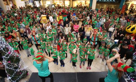 An 'elfy' run up to the festive season at intu Metrocentre!