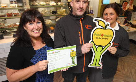 Food4Health gold award for Teesside Uni