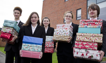 Academy supports charity's two million box appeal