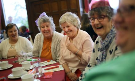 'Cup of festive kindness' Christmas Tea Party celebrates Stockton's elderly