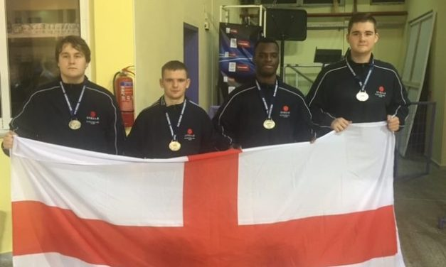Karate star's silver lining at European championships
