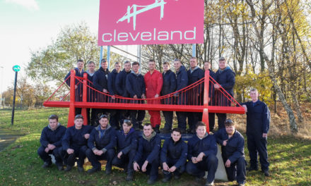Cleveland Bridge Apprentices restore iconic model bridge