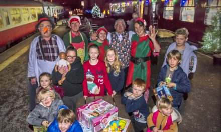 Fostering North Yorkshire's special day out with Santa