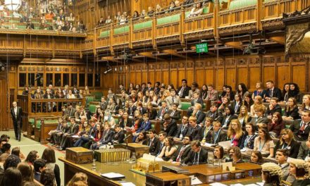 Pupils speak out at the Houses of Parliament