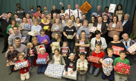 Local residents spread Christmas cheer