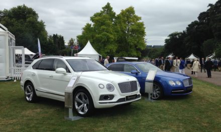 Bentley Newcastle Attend Concours of Elegance Event