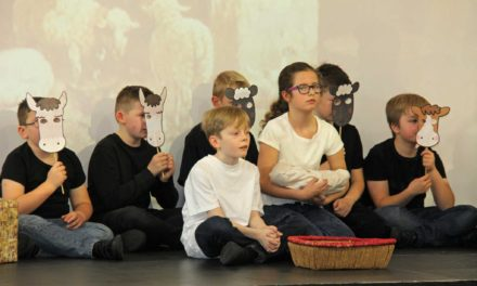 Superstar with the X-mas Factor at Blyth nativity