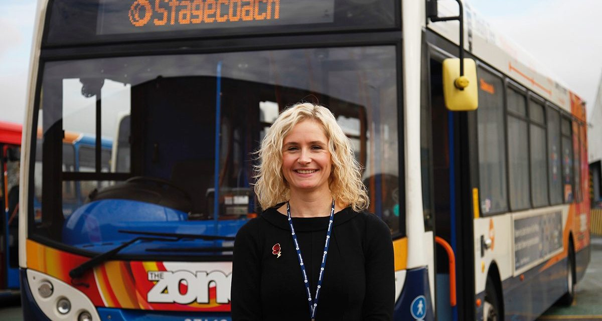 Graduate Melanie takes on operations role at Teeside bus depot