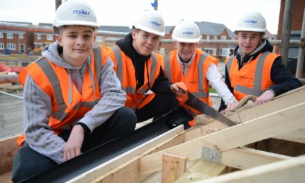 Apprentices build careers with Miller Homes