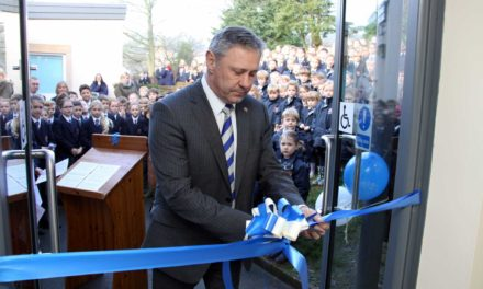 Centenary teacher opens new school extension