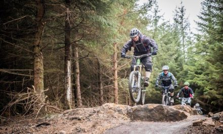 Blazing the trail for mountain bikers at Hamsterley Forest