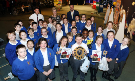 Pupils compete to be names road safety winners