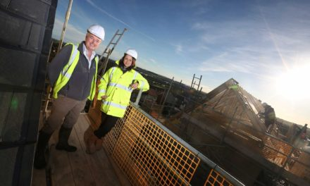 First phase of £2.5m Alnwick housing development nears completion