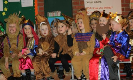 pupils tell the greatest story ever told