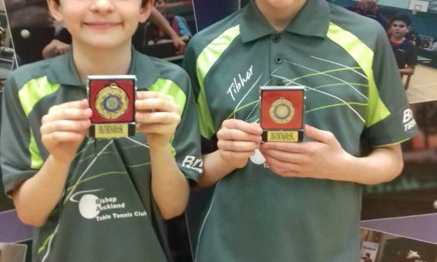Young table tennis players illuminate Blackpool