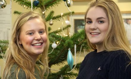 Students prove woolly thinking is a money-spinner for hospice