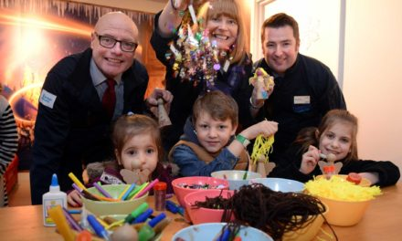 Children from Local Hospice Enjoy a Festive Day out at Teesside