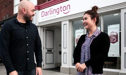 Darlington Building Society supports North East homeless charity