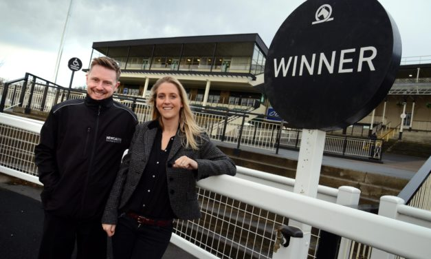 Unwritten Creative and Newcastle Racecourse charge ahead with new partnership