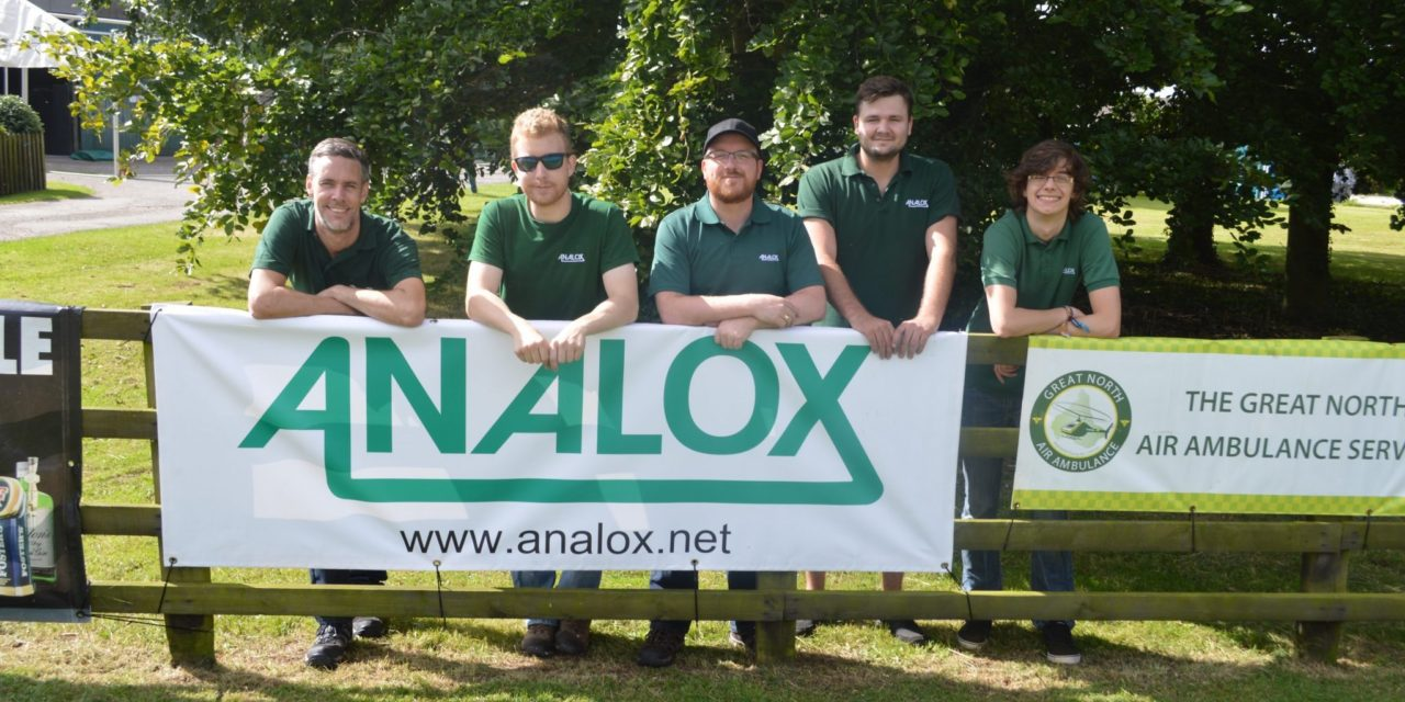Help Analox help your charity in 2017