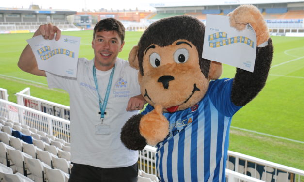 H'Angus Becomes Dementia Friends Champion