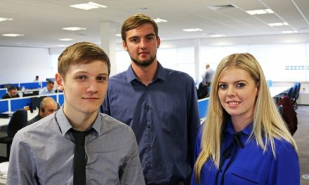 GAS named one of UK's top 100 Apprenticeship Employers