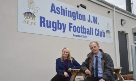 Ashington rugby club flushed with pride at new disabled facilities