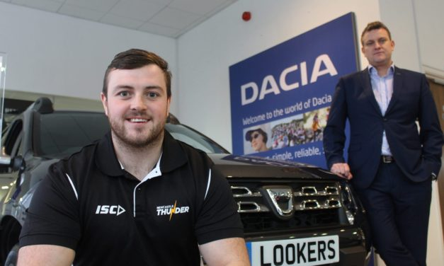 Dacia Newcastle puts Thunder Community Programme into driving seat