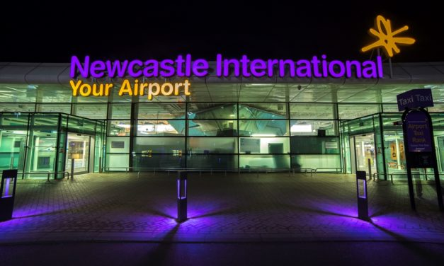 Newcastle named the world's most punctual small airport for 2016