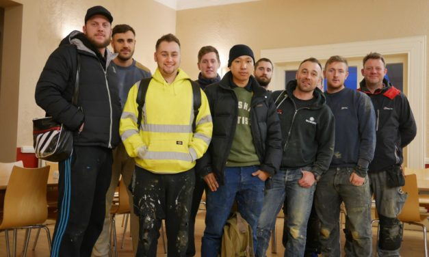 Local charity to provide accommodation, catering and transport to support leading house builder Persimmon