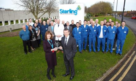 Sterling Pharma Solutions recognised for exceptional staff training