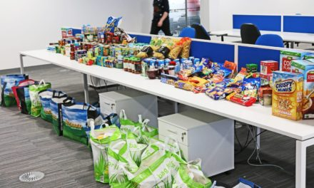 Generous staff lead appeal to generate huge Foodbank donation