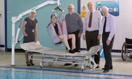 better access to Bedale swimming pool with new hoist