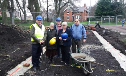 Work starts on improved park facilities
